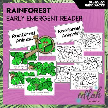 Rainforest Early Emergent Reader - BUNDLE