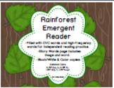 Rainforest Emergent Reader