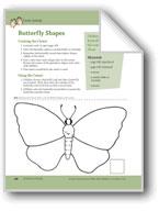 Rainforest Family: A Center (Butterflies)