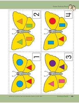 Rainforest Family: Center Activity (Butterflies)