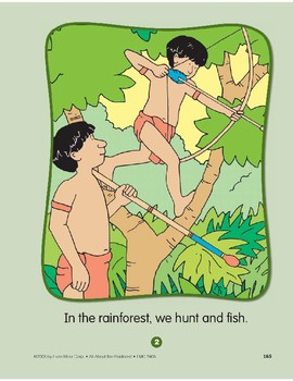 Rainforest Family: Circle-Time Book
