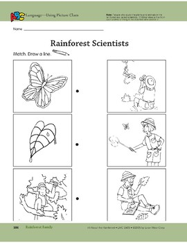 Rainforest Family: Language and Math Activities