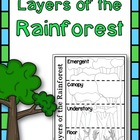 Rainforest Flip Flap Book