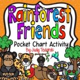 Rainforest Friends (Pocket Chart Activity)