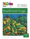Rainforest Frogs Art Lesson for Grades 3-5