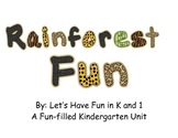 Rainforest Fun Kindergarten Unit