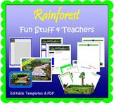 Rainforest:  Fun Stuff 4 Teachers