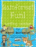 Rainforest Fun! Writing Center