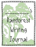 Rainforest & Ocean Habitat Animal Writing Journal Expository Writing common core