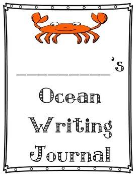 Rainforest & Ocean Habitat Animal Writing Journal Expository Writing common core
