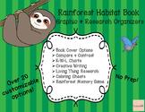 Rainforest Habitat Book