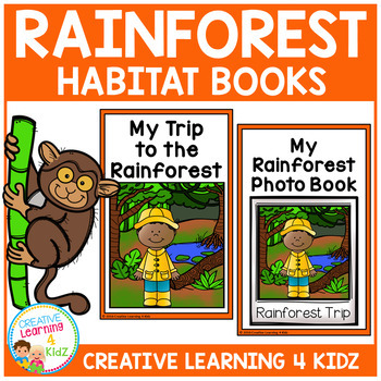 Rainforest Habitat Books