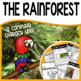 Rainforest Habitat Unit - Common Core Non-Fiction (reading and writing)