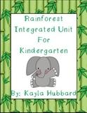 Rainforest Integrated Unit for Kindergarten
