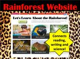 Rainforest Interactive Website Access-Connect Reading, Writing and Science
