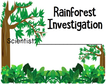 Rainforest Investigation - Habitats