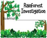 Rainforest Investigation - Habitats