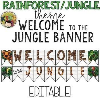 Rainforest Jungle Theme Bundle