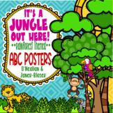 Rainforest & Jungle Themed ABC Manuscript Posters  **D'Nea