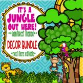 Rainforest & Jungle Themed Classroom Decor Bundle