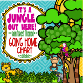 Rainforest & Jungle Themed Going Home Chart System **editable**