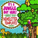 Rainforest & Jungle Themed Newsletter Templates