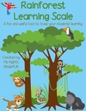 Rainforest Learning Scale- A student tracking tool