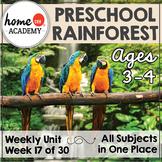 Preschool Rainforest Printables (Week 17)