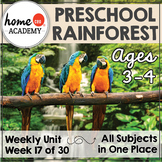 Preschool Curriculum Week 17 - Preschool Rainforest Habitat