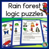 Rainforest Logic Puzzles