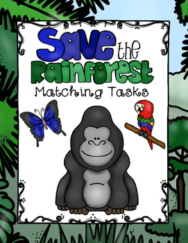 Rainforest Matching Tasks