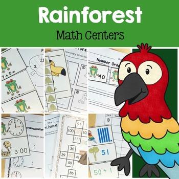 Rainforest Math Centers