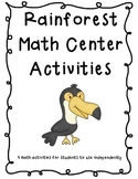 Rainforest Math Center Packet