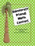 Rainforest Math Centers {1st Grade Common Core Aligned}