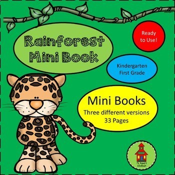 Rainforest Mini Books