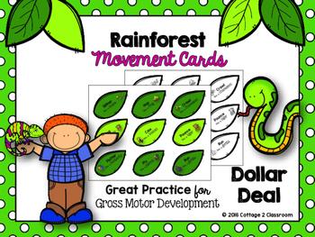 Rainforest Movement Cards