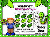 Rainforest Movement Cards