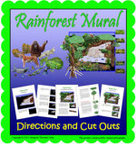 Rainforest Mural Directions (Included in Rainforest: Maps,