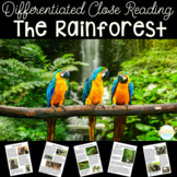 Differentiated Rainforest Close Reading Unit