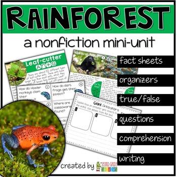 Rainforest Nonfiction Reading