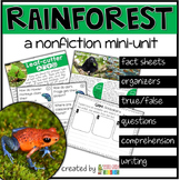 Rainforest Nonfiction Reading