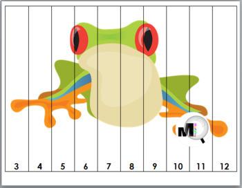 Rainforest Number Puzzles 1-20