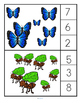 Rainforest Count and Clip Cards
