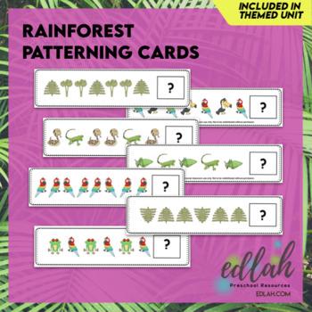 Rainforest Patterning Cards