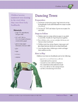 Rainforest Plants: Dancing Trees and Musical Skit