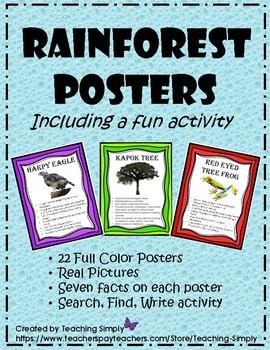 Rainforest Posters