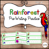 Rainforest Pre-Writing Practice