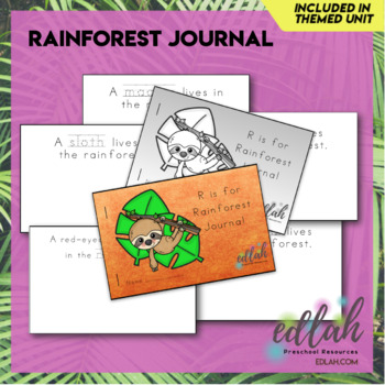 Rainforest Printable Journal