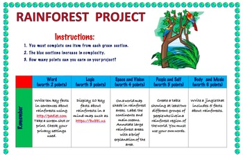 Rainforest Project
