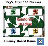 Rainforest Reading - 100 Common Phrases Fluency Game